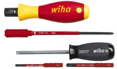 WIHA 38074  Vde Torque Screwdriver Set - 5Pc
